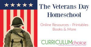 This is a collection of resources (online, printable, books and more) to help children understand the significance of Veterans Day and the importance of those who have fought and died for America, as well as those who currently serve to protect our nation. From The Curriculum Choice